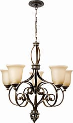 Craftmade Exteriors Mia - Aged Brz/Vintage Mad 5 Light Chandelier in Aged Brz/Vintage Mad
