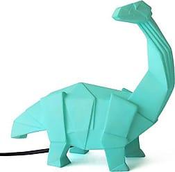 DISASTER DESIGNS DINOSAUR Origami Lamp T-Rex orange Dino Lampe ... | 248x252