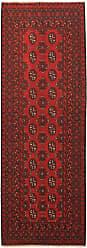 Nain Trading Oriental Afghan Akhche Rug 710x29 Runner Dark Brown/Rust (Wool, Afghanistan, Hand-Knotted)