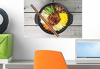 Wallmonkeys FOT-75132754-18 WM132808 Korean Cuisine Peel and Stick Wall Decals (18 in W x 12 in H), Small