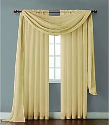 VCNY Home VCNY INF-PNL-5595-IN-GL Infinity Sheer Panel, 55 by 95-Inch, Gold