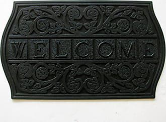 Geo Crafts Rubber Tile Welcome Doormat