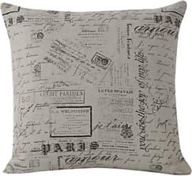 Zentique Zentique Script Pillow, 20 by 20-Inch