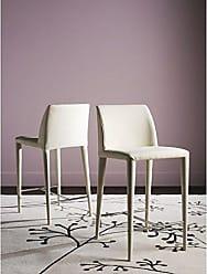 Safavieh Home Collection Garretson Beige Linen 36.4-inch Counter Stool (Set of 2)
