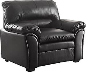 Homelegance 8511BK-1 Talon Contemporary Chair Bonded Leather, Black