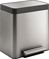 Kohler 20942-ST 8-Gallon Compact Stainless Step Trash Can, Stainless Steel
