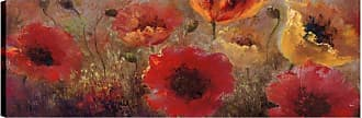 Art Maison Canada Red and Yellow Flower Bunch I Wall Art - HAYIMP5150ONL