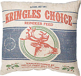 Primitives By Kathy Vintage Feed Sack Style Kringles Choice Throw Pillow