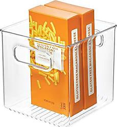 Organizzatore Trasparente Porta Oggetti Set da 5 Contenitore Scarpe Trasparente 30 x 18 x 9.5, Box Porta Scarpe di Plastica