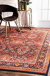 nuLOOM DISA01A Persian Sultanabad Tiara Rug, 5 3 x 8 2, Orange