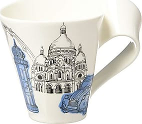 Villeroy & Boch New Wave Caffé Cities of the World Mug Paris By Villeroy & Boch - Premium Porcelain - Made in Germany - Dishwasher and Microwave Safe - Gift Boxed - 11.75 Ounce Capacity