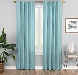 Ellery Homestyles Vue Vaughn Window Curtain Panel, 42 x 84, Aqua