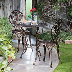 Oakland Living Outdoor Oakland Living Rose Patio Bistro Set - 3705-AB