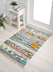 Simons Maison Multicolour triangle rug 90 x 130 cm