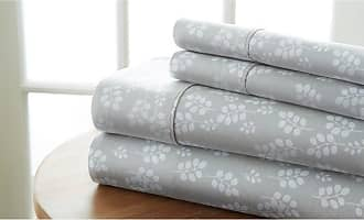 Noble Linens Wheat Sheet Set by Noble Linens Pale Blue, Size: Queen - NL-4PC-WHE-QUEEN-PA