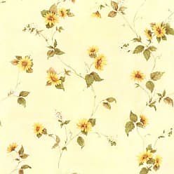 Brewster Home Fashions August Floral Trail Wallpaper - 414-45177