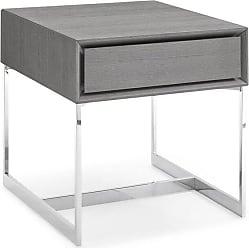 Whiteline Skylar Side Table - ST1405-GRY