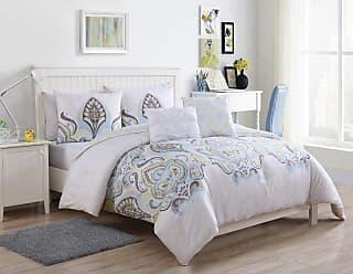 VCNY Shazia Comforter Set by VCNY, Size: Twin - ZIA-4CS-TWXT-KO-GL
