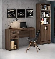 JCM Movelaria Conjunto Home Office 2 Peças Jcm Movelaria