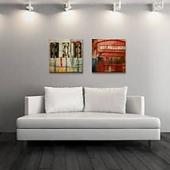Ready2HangArt Ready2hangart 2 Piece Alexis Bueno People, Places, Things X Canvas Wall Art, 16 x 32