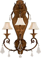 Metropolitan N6222-363 Three Light Wall Sconce in Padova finish with Optional Cloth Shade - Not Incl