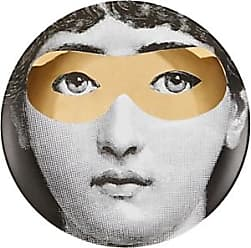 Fornasetti Theme & Variations Plate No. 22 - Wht.&blk.&gold