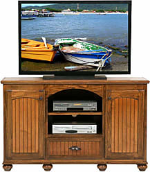 Eagle Furniture American Premiere Customizable 57 in. Entertainment TV Stand with 2 Doors - 16256WPHG