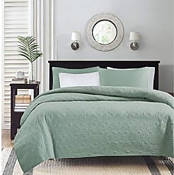 Madison Park Quebec Dusty Pale Seafoam 3-Piece Quilted King Coverlet Set-For King or Cal King Bed -Ideal For Warm Climate Room Décor or Add-on For Extra Warmth