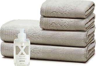 Artex Kit Sabonete Líquido Artex + Toalha Aveludada Le Bain Roberta