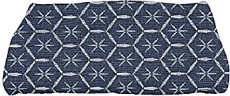 E by Design E by design TG861BR14 Button Up, Geometric Print Bath Towel, 28 x 58, Maroon
