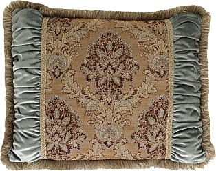 Dian Austin Couture Home King Villa di Como Brocade Sham with Ruched Sides