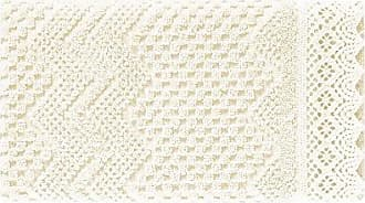 Five Queens Court Sonia Woven Jacquard Cotton Hand Towel, Shabby Chic Style, Ivory