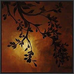Ptm Images 9-13441 Evening Garden IV, Canvas Wall Art, Black