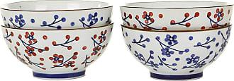 Pols Potten Japanese Dot Bowls - Set of 4