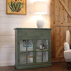 Decor Therapy FR8451 Table, Simplicity Green