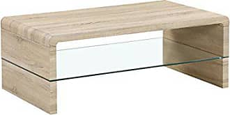 cavadore couchtisch fred moderner niedriger tisch mit glaseinsatz und viel stauraum sofa