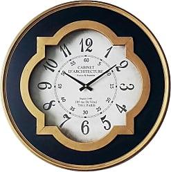 Infinity Instruments Quatrefoil Wall Clock - 15252AG-4171