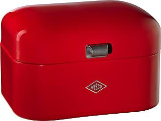 WESCO Single Grandy Bread Box - Red