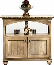 Eagle Furniture American Premiere Customizable Medium Kitchen Island - Ball Foot Butcher Block - 15246WPSB