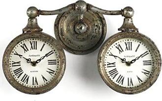Zentique Zentique Double Vintage Clock
