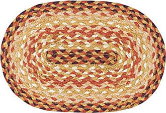Earth Rugs 00-779 Table Accent, 10x15, Orange