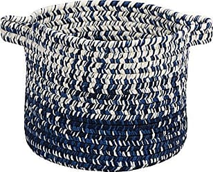 Colonial Mills Monet Ombre Basket, 14x14x15, Navy