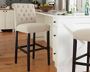 Ashley Furniture Tripton Bar Height Bar Stool (Set of 2), Linen