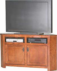 Eagle Furniture Mission 56 in. Corner Entertainment Center - 88744WPCC