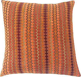 The Pillow Collection Kawena Geometric Bedding Sham Amber Queen/20 x 30