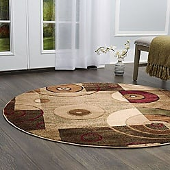 Home Dynamix Tribeca Hiram Area Rug 52 Round, Abstract Multi