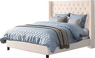 CorLiving BBT-370-Q Fairfield Queen Bed Cream
