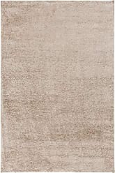 Surya BNA6000-46 Hand Loomed Shag Area Rug, 4-Feet by 6-Feet