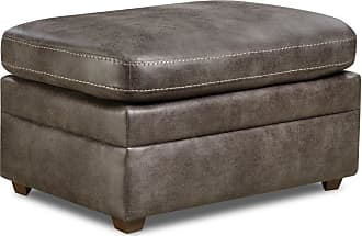 United Furniture Simmons Upholstery Shiloh Ottoman - 9085-09 SHILOH GRANITE