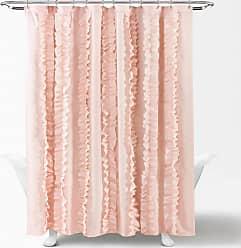 Lush Décor Belle Polyester Shower Curtain White - 16T004137